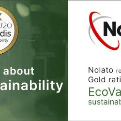 Nolato Receives Yet Another EcoVadis Gold Sustainability Rating